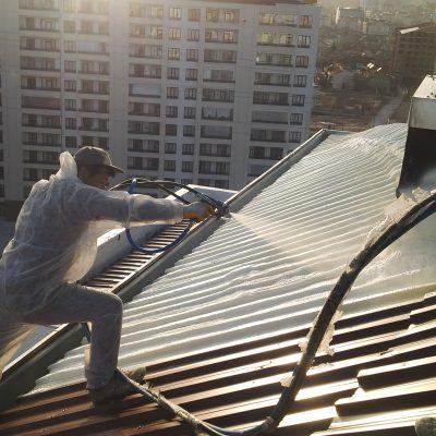 Çatı Trapez Saç İzolasyonu